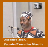 Assamoa Jean,  Founder/Executive Director